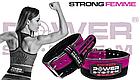 Пояс для пауэрлифтинга Power System PS-3850 Strong Femme Black/Pink S, фото 6