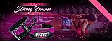 Пояс для пауерліфтингу Power System PS-3850 Strong Femme Black/Pink M, фото 6