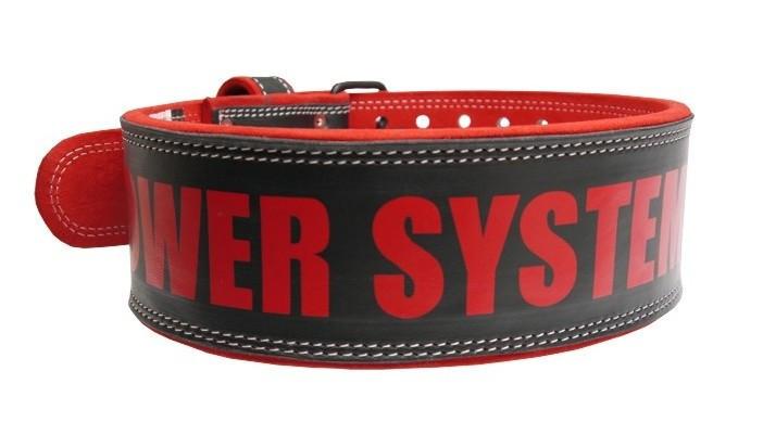 Пояс для важкої атлетики Power System Beast PS-3830 L Black/Red