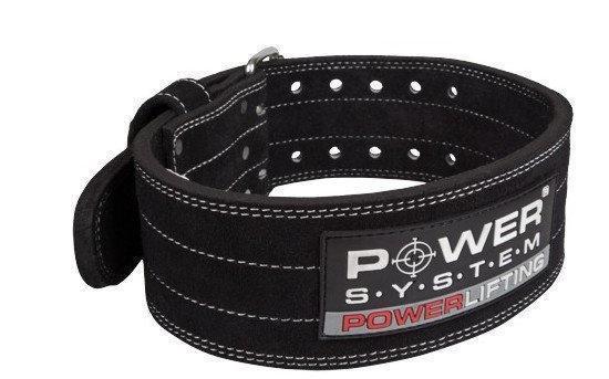 Пояс для пауерліфтингу Power System Power Lifting PS-3800 M Black