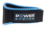 Пояс для тяжелой атлетики Power System Woman's Power PS-3210 XS Blue, фото 3