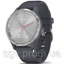 Фитнес часы Garmin vivomove 3S Sport Silver-Blue