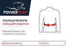 Пояс для схуднення PowerPlay 4301 (125*30) Чорний, фото 10