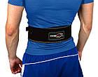 Пояс для важкої атлетики PowerPlay 5175 Чорно-Оранжевий XS, фото 3