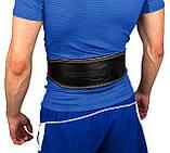 Пояс для важкої атлетики PowerPlay 5084 Чорно-Жовтий S, фото 2