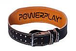 Пояс для важкої атлетики PowerPlay 5084 Чорно-Жовтий L, фото 3