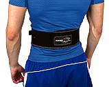 Пояс для важкої атлетики PowerPlay 5175 Чорно-Оранжевий M, фото 3
