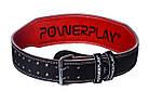 Пояс для важкої атлетики PowerPlay 5085 Чорно-Червоний S, фото 4