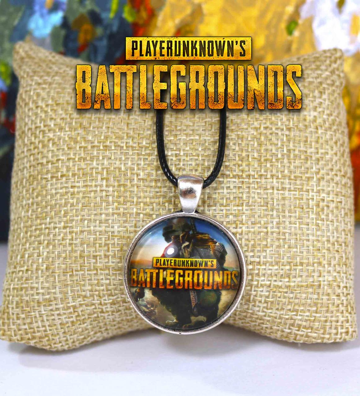 Кулон с героем на фоне неба PlayerUnknown's Battlegrounds  PUBG