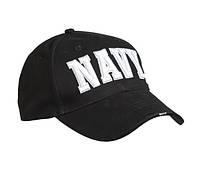 Бейсболка сендвич Mil-tec ВМС цвет черный