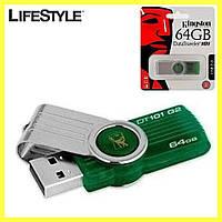 Флешка USB Kingston DataTraveler DT101 G2 64GB / Флеш память