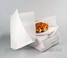 Бумажный Пакет-уголок 17х17 см., 38 г/м2,2000 шт. белый крафт (46000)