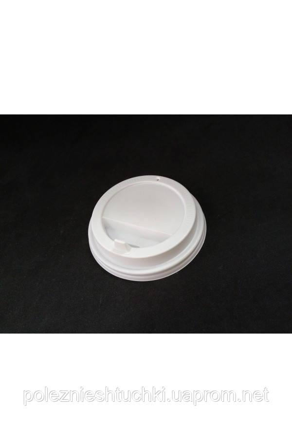 Крышка PS белая с открывающимся питейником Ǿ=90мм