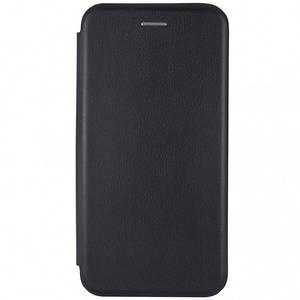 Чехол-книга для Xiaomi Redmi Note 7 с магнитом подставка карман под карту чехол книжка на редми нот 7 черная