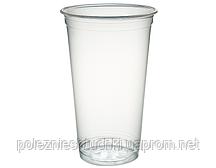 Стакан ПЭТ одноразовый 500 мл., 50 шт. пластиковый, прозрачный Huhtamaki