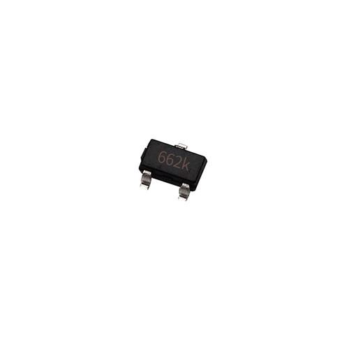 Чип XC6206P332MR 662K SOT23, стабилизатор напряжения 3.3В 0.5А