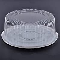 Упаковка блистерная для торта 33,5 см., 75 шт/уп круглая, из полистирола ПС-260