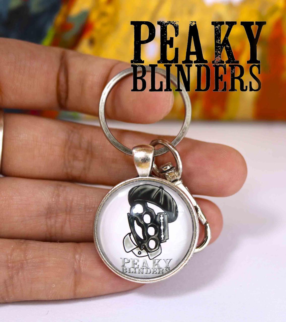 Брелок с символикой Острые козырьки / Peaky blinders