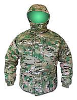 Костюм демисезонный BDU Multicam, Slimtex + синтапон + сетка (куртка + полукомбез)