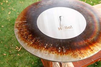 Крышка Holla Grill для тушения жара (Нержавеющая сталь) d = 550 mm