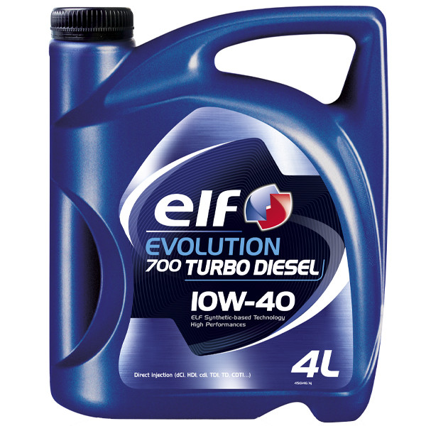 Масло моторное ELF Evolution 700 Turbo Diesel SAE 10W-40 (4L)