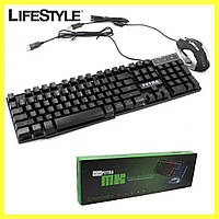 Клавиатура Gaming Petra MK1 Keyboard mouse + Мышка