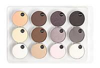 JUST  Eyeshadow set  Набор теней в блистере 12 тонов (размер L) магнит  т.12, фото 1