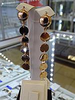 Золотые серьги, фото 1