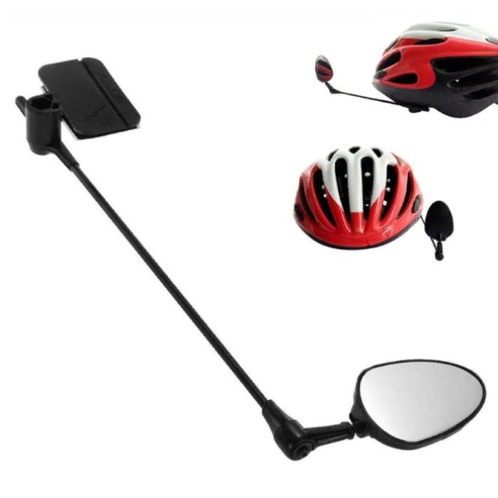 Зеркало на шлем велосипедиста или байкера поворот 360 градусов