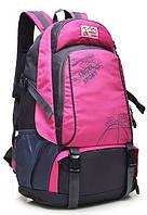 Качественный  детский школьный модный рюкзак непромокаемый, Angel Sport, розовый, черный