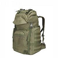 """Тактический рюкзак, туристический """"Mountain - A51"""" (Олива) на 70 литров, армейский, EDC"""