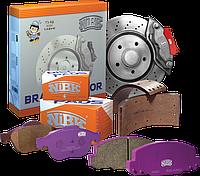 Тормозные диски перфорированные ( комплект )  NIBK  RN1122DSET