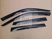 Дефлекторы окон (ветровики) BMW X5 e53 (БМВ Х5 е53) 2000г-2006г