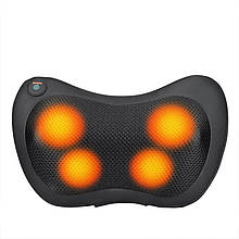 Массажная подушка для тела с выбором скорости и подогревом с питанием от сети и автомобильным адаптером Power