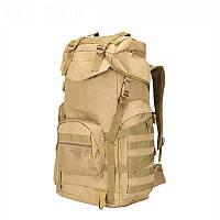 """Тактический рюкзак, туристический """"Mountain - A51"""" (Койот) на 70 литров, армейский, EDC"""