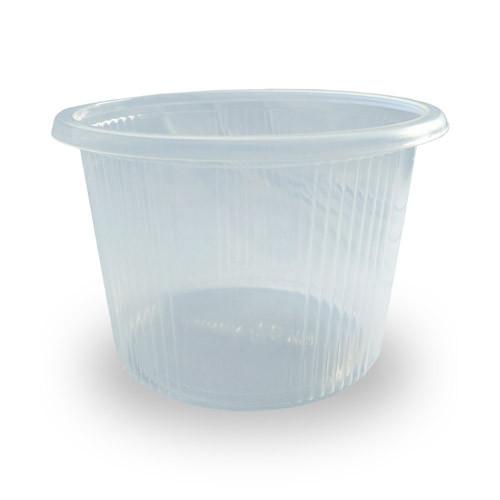 Супниця пластикова прозора ПП-115 Дно - 500 мл, 20 шт