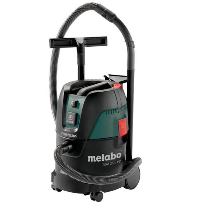 Пылесос 1250 Вт / 25 л / 3 года гарантии  Metabo ASA 25 L PC
