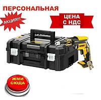 Шуруповерт DeWALT DCF620NT  аккумуляторный,безщёточный,18В,Li-Ion, 5Ач, 4400 об/мин,2 аккум.,ЗУ,чемодан TSTAK