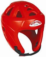 """Шлем для кикбоксинга Top Ten """"Avantgarde"""" Красный, L = 58 - 64 cm"""