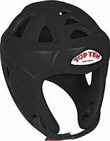 """Шлем для кикбоксинга Top Ten """"Avantgarde"""" Черный, L = 58 - 64 cm"""