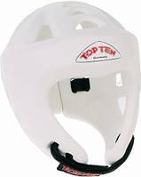 """Шлем для кикбоксинга Top Ten """"Avantgarde"""" Белый, L = 58 - 64 cm"""