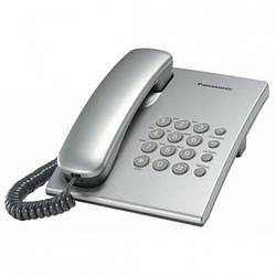 Телефон проводной Panasonic TS2350 silver (KX-TS2350UAS)