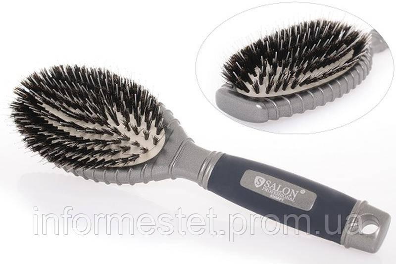 Расчёска для волос SALON массажная пластиковая 6365 RPT