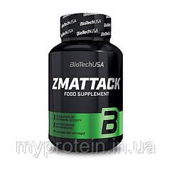 BioTech Повышение тестостерона ZMA TTACK 60 caps