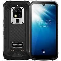 Смартфон защищенный серебристый с большим дисплеем и мощной батареей на 2 симки Conquest S16 8/128Gb silver