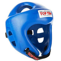 "Шлем для кикбоксинга Top Ten ""COMPETITION FIGHT"" Синий, L = 58 - 64 cm"