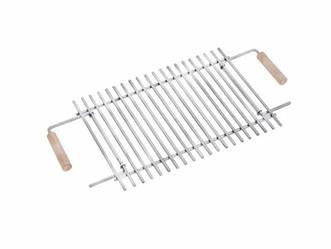Решітка-гриль для розкладних мангалів на 6 шампурів (Нержавіюча сталь)