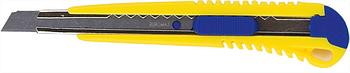 Нож универсальный 9 мм, метал. направляющая, пласт. корпус