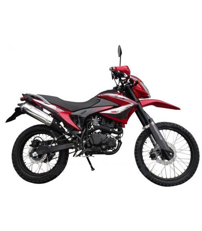 Мотоцикл Forte FT200GY-C5B (червоний)