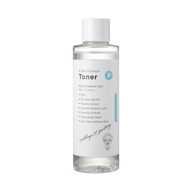 Очищающий тонер Village 11 Factory P Skin Formula Toner, 250 мл